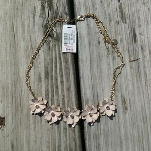 Talbot Floral Rhinestone Necklace